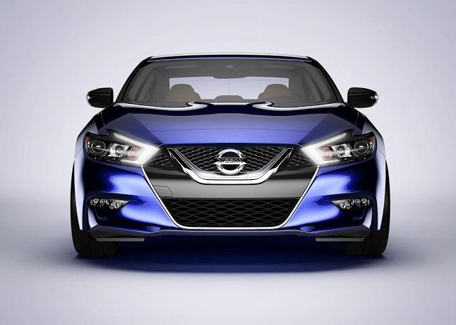 2016 Nissan Maxima blue front