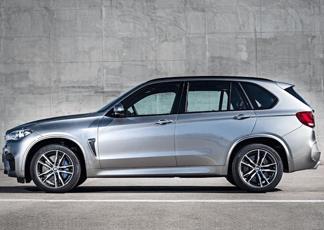 2015 BMW X5M silver