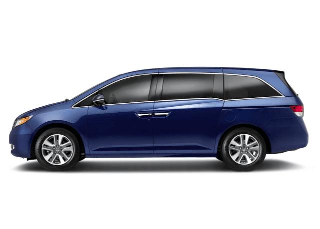 2015 Honda Odyssey Touring Elite blue