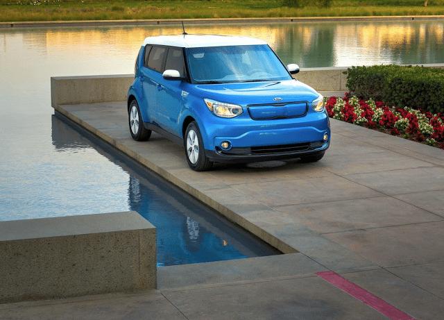 2015 Kia Soul EV blue