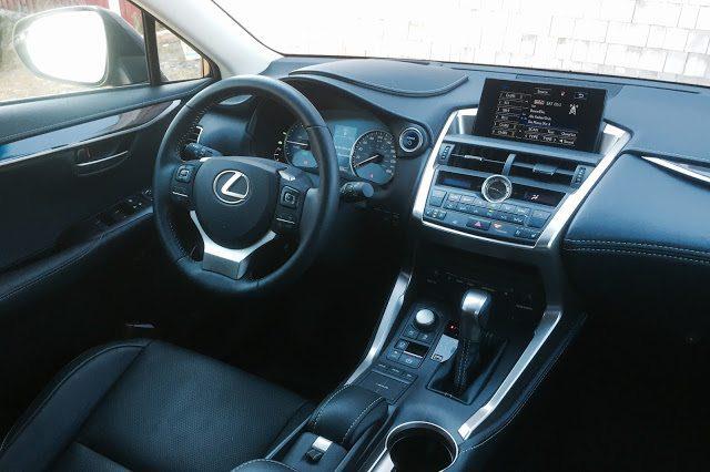 2015 Lexus NX300h interior