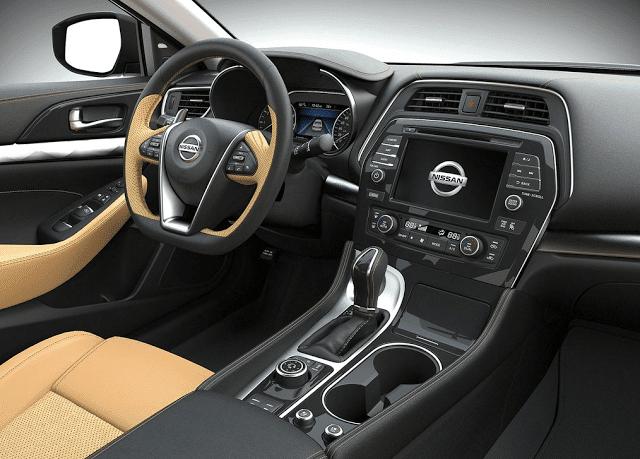 2015 Nissan Maxima interior beige leather