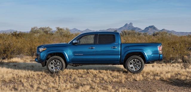 2016 Toyota Tacoma blue