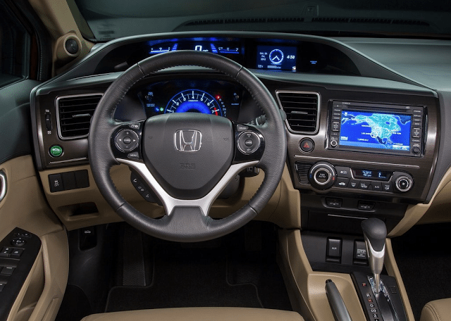 2014 Honda Civic interior