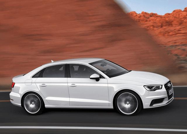 2015 Audi A3 sedan white