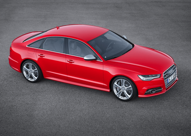 2015 Audi S6 red