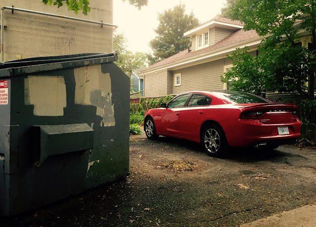 2015 Dodge Charger SXT Rallye V6 red
