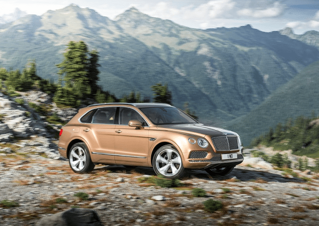 2016 Bentley Bentayga brown