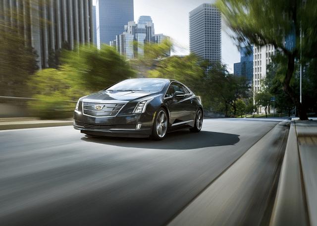 2016 Cadillac ELR black