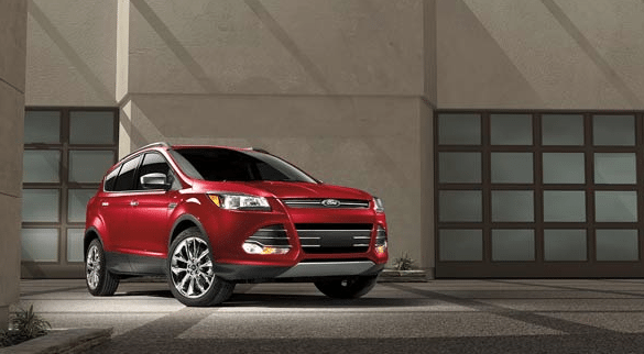2016 Ford Escape red