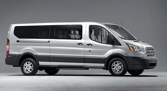 2015 Ford Transit extended passenger van