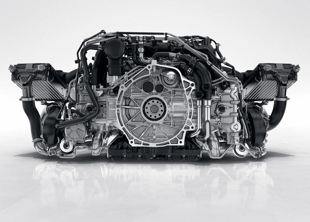 2017 Porsche 911 3.0L twin turbo boxer six