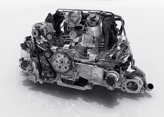 2017 Porsche 911 3.0L turbo