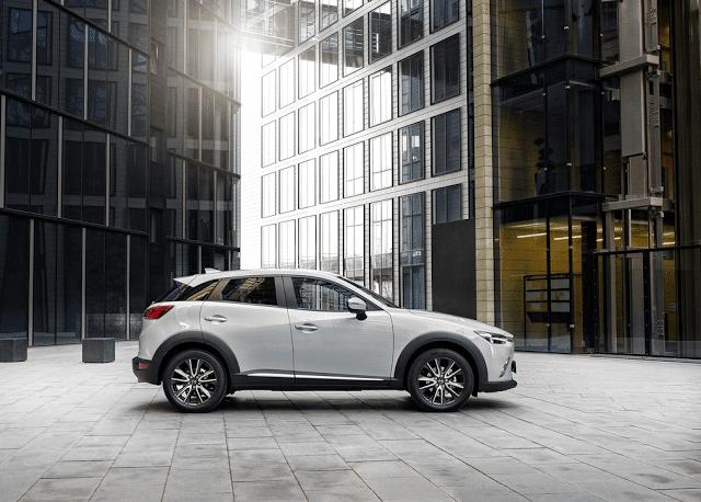 2016 Mazda CX-3 white