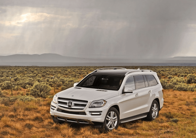 2013 Mercedes-Benz GL-Class white