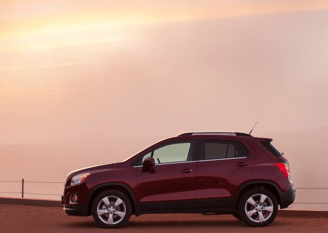 2014 Chevrolet Trax red