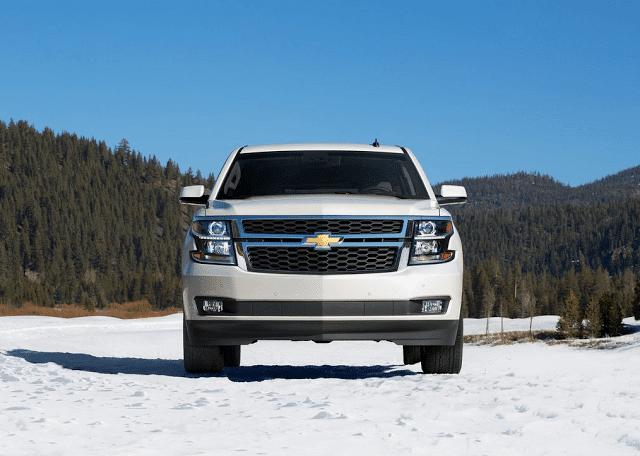 2015 Chevrolet Tahoe white