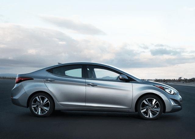 2015 Hyundai Elantra silver sedan