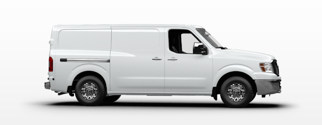 2015 Nissan NV white