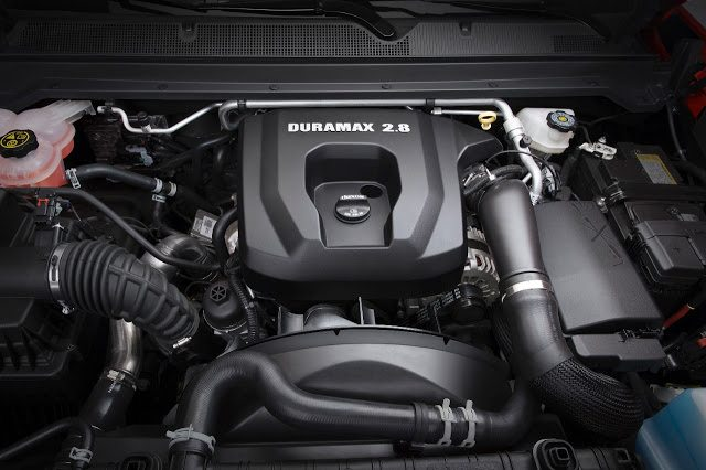 2016 Chevrolet Colorado 2.8L duramax diesel