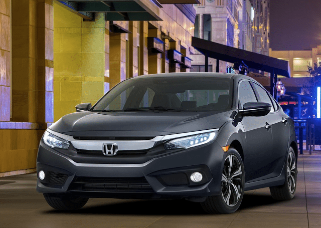 2016 Honda Civic sedan grey