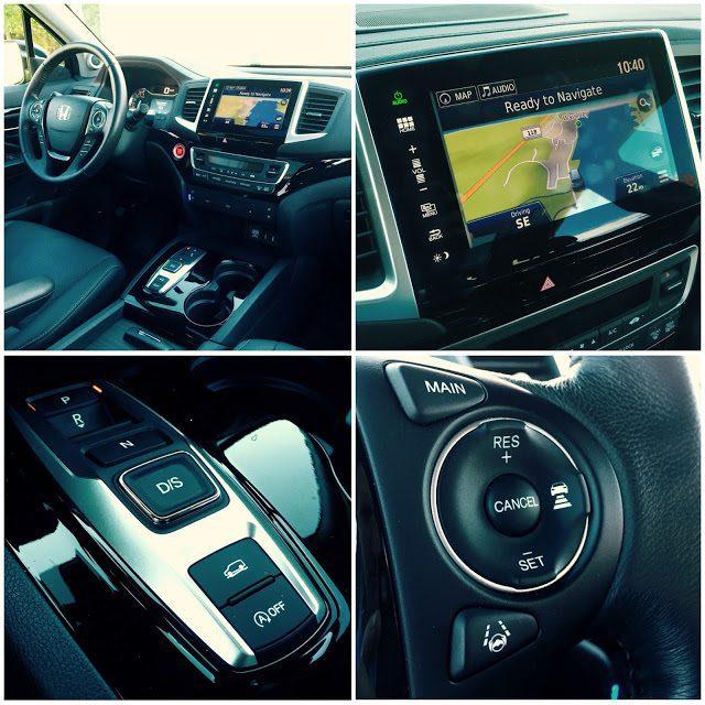 2016 Honda Pilot interior collage