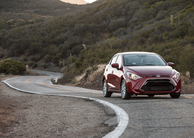 2016 Scion iA red