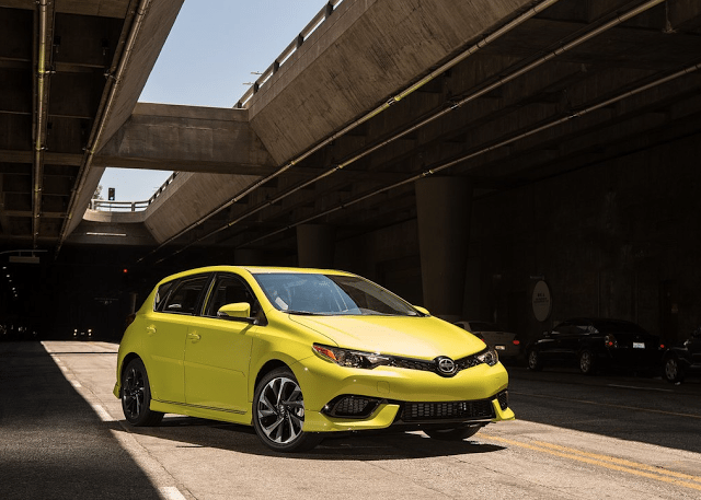 2016 Scion iM yellow