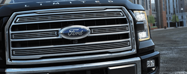 Ford Blue Oval F150 grille badge