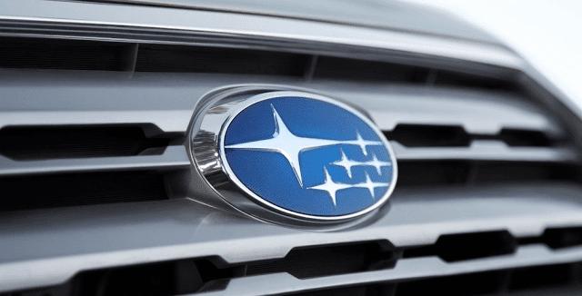 Subaru grille badge
