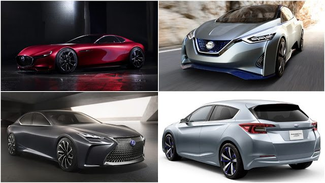 2015 Tokyo Motor show debuts