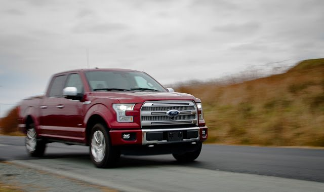 2015 Ford F-150 Platinum SuperCrew 4x4 EcoBoost