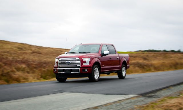 2015 Ford F-150 SuperCrew Platinum Ruby Red