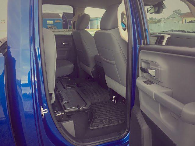 2015 Ram 1500 Quad Cab rear seat