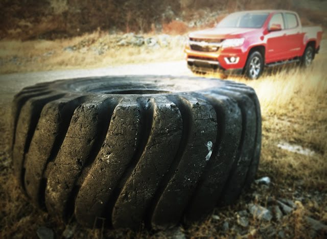 2016 Chevrolet Colorado Z71 crew cab truck tire