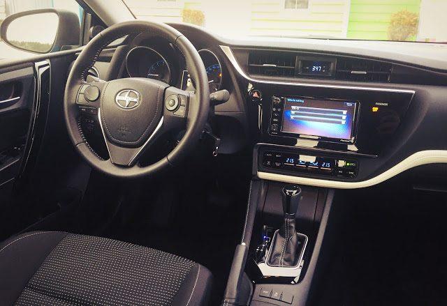 2016 Scion iM interior CVT