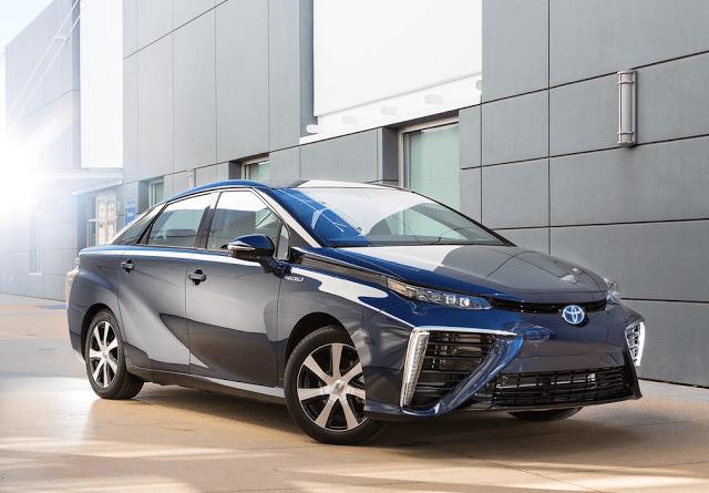 2016 Toyota Mirai blue