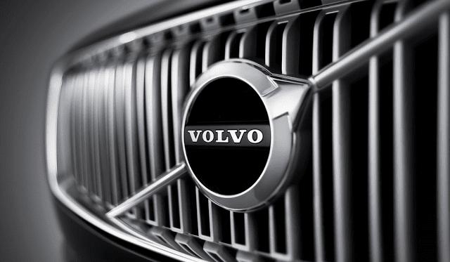 Volvo grille logo