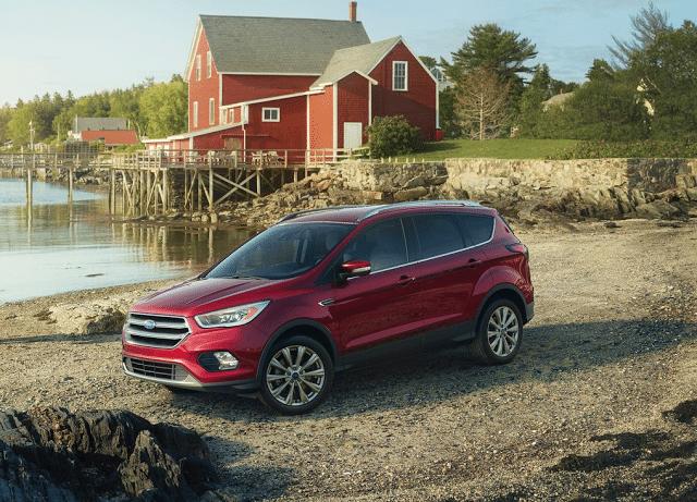 2017 Ford Escape farm red