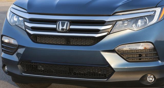 Honda grille badge