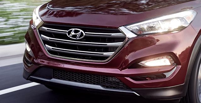 Hyundai Tucson grille badge