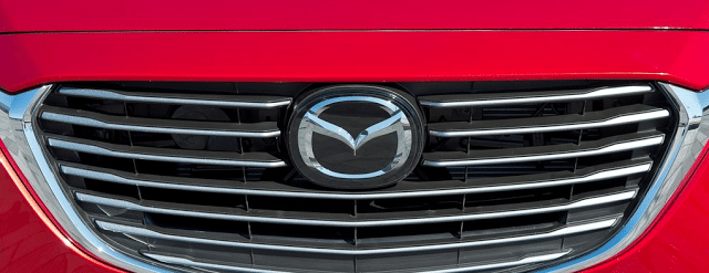 Mazda grille badge