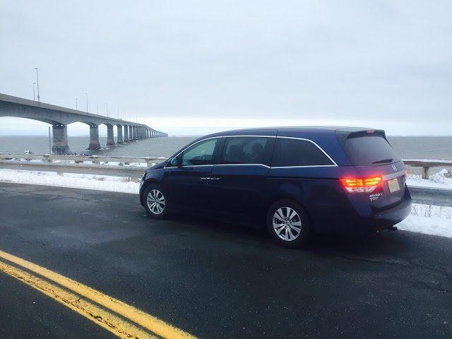 2015 Honda Odyssey Confederation Bridge