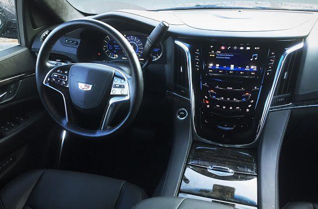 2016 Cadillac Escalade Platinum interior