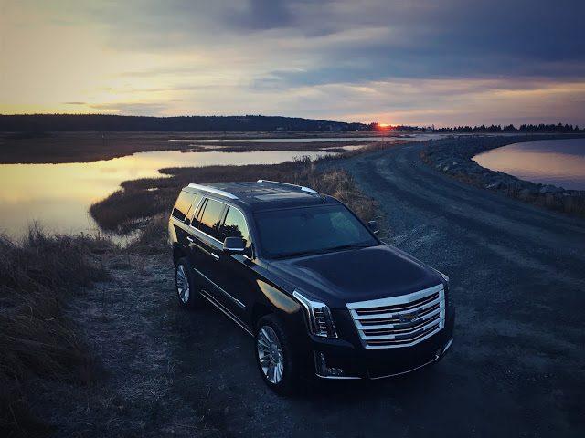 2016 Cadillac Escalade Platinum grey