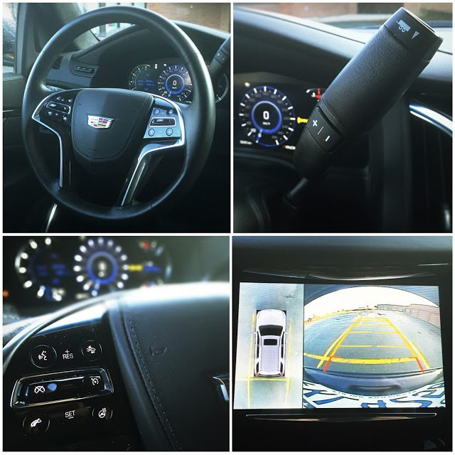 2016 Cadillac Escalade interior collage