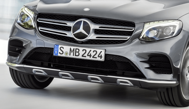 Mercedes-Benz grille badge three pointed star