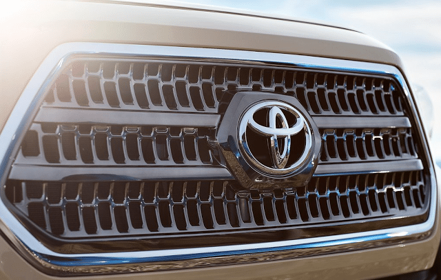 Toyota grille badge