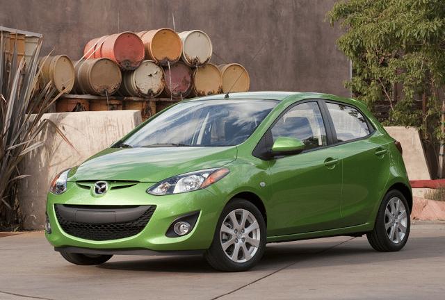 2011 Mazda 2 green