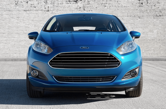 2014 Ford Fiesta front